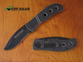 Smith & Wesson Extreme OPS Serrated Edge, Black - CKG105S