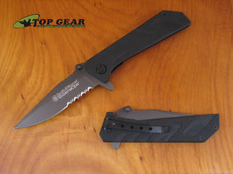 Smith & Wesson Extreme Ops Tactical Knife with G10 Handle - CKG110S
