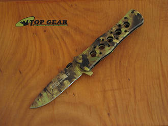Smith & Wesson Extreme OPS Medium Drop-Point Knife - Camo CK6CH