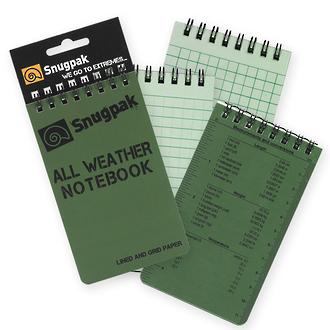 Snugpak All Weather Waterproof Notebook - 97380