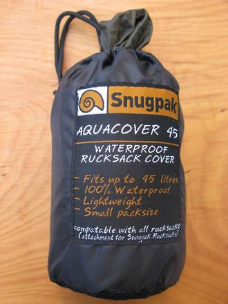 Snugpak Aquacover 45 Waterproof Rucksack Cover, Olive Green - 92142