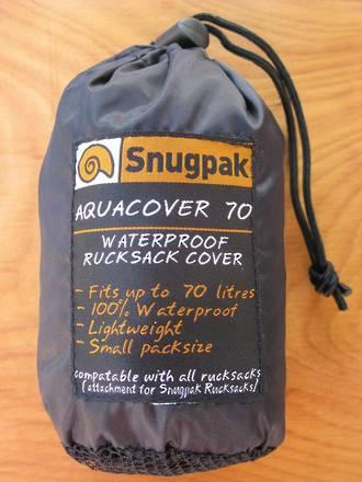 Snugpak Aquacover 70 Waterproof Rucksack Cover - 3 Colours