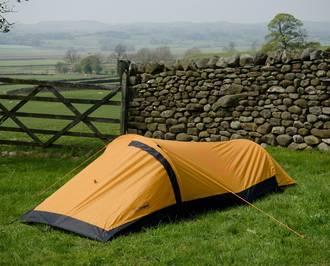 Snugpak Journey Solo One Person Bivvi Tent - Sunburst Orange 96001
