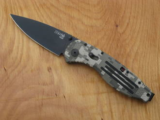 SOG Aegis Assisted Opening Knife, Digital Camo - AE06-BX