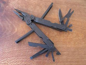 SOG Powerlock Multi-Tool with Black Oxide Coating - B60-N