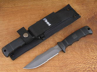 SOG Seal Pup Knife with Molle Sheath - M37-NCP