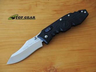 SOG Toothlock Folding Knife, VG10 San Mai Steel - TK01