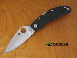 Spyderco Caly 3 Pocket Knife, ZDP189/420j2 Stainless Steel - C113CFPE