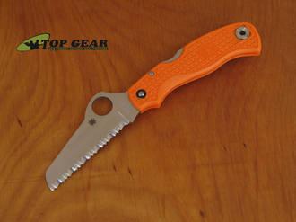 Spyderco 79MM Rescue Knife - Black or Orange Handle