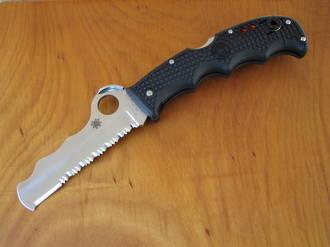 Spyderco Assist I Rescue Knife, Black Handle - C79PSBK