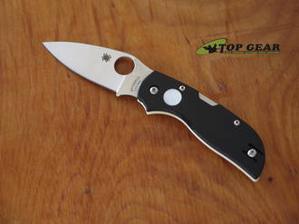 Spyderco Chaparral Sun & Moon Lockback Knife, CTS-XHP Stainless Steel, G10 with Pearl Inlay - C152GSMP
