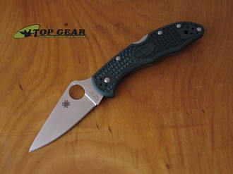 Spyderco Delica 4 Knife w ZDP-189 Stainless Steel Blade - C11PGRE