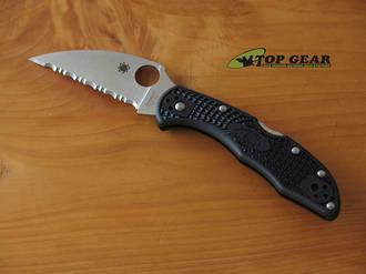Spyderco Delica Wharncliffe Pocket Knife - C11FSWCBK