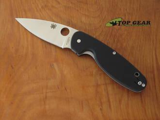 Spyderco Emphasis Pocket Knife, 8Cr13MoV, Satin Blade, Straight Edge - C245GP