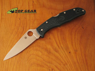 Spyderco Endura Flat Ground Folder - C10PGRE ZDP-189 Steel