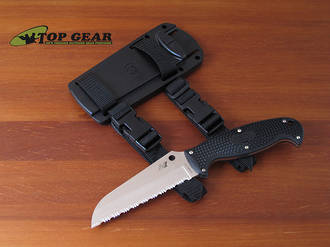 Spyderco Jumpmaster Rescue Knife - FB24SBK