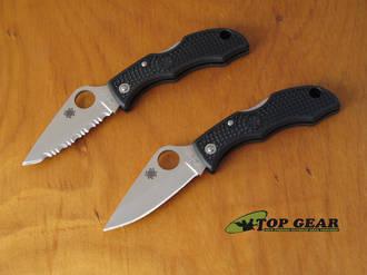 Spyderco Ladybug Pocket Knife - LBKP3 Plain Edge or LBKS3 Serrated Edge