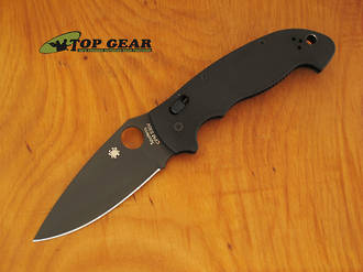 Spyderco Manix 2 XL Black Lockback Knife, CPM-S30V Stainless Steel - C95GPBBK2
