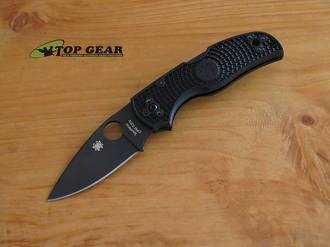 Spyderco Native 5 Black, Plain Edge, CPM-S30V - C41PBBK5
