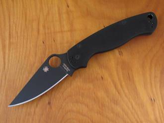 Spyderco Paramilitary 2 CF Knife S30V Stainless Steel - C81GPBK2