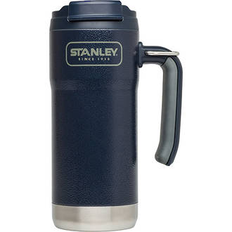 Stanley Adventure Series Large Vacuum Steel Travel Mug, 473 ml, Navy Blue - 10-01903-001