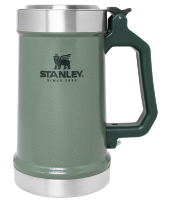 Stanley Classic The Bottle Opener Beer Stein, 700 ml, Hammertone Green - 10-09845-001