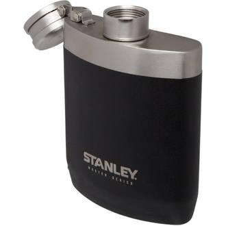 Stanley Master Series Hip Flask, Black, 8 oz. (236ml) - 10-02892-001