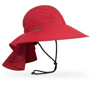 Sunday Afternoons Ladies Sundancer Hat, Cardinal Red - S2CO1077B44707