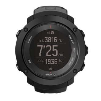 Suunto Ambit3 Vertical GPS Watch, Black - SS021965000