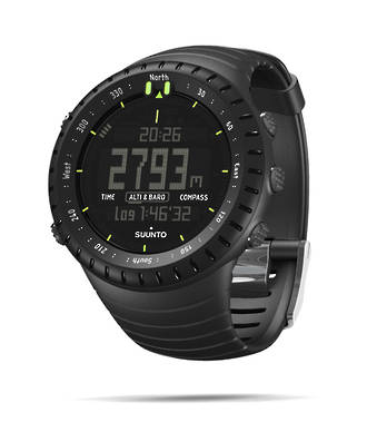 Suunto Core All Black Sports Watch - SS014279010