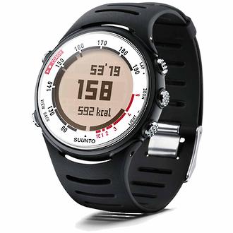 Suunto t4d Heart Rate Monitor Sports Watch, White Blaze - SS015311000