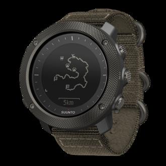 Suunto Traverse Alpha GPS Watch, Foliage Green - SS022292000