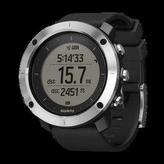 Suunto Traverse GPS Watch, Black - SS021843000