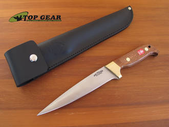 """Svord Deluxe 6 ½"""" Pig Sticker with Mahogany Wood Handle - PSB"""