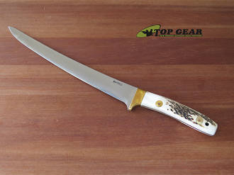 "Svord Deluxe 9"" Fish Fillet Knife with Stag Handle - 950B STAG"