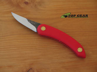 Svord Chip Thwitel Whittling / Carving Knife, Red - CH