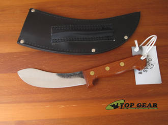 Svord Curved Skinner Knife with Hardwood Handle - CS