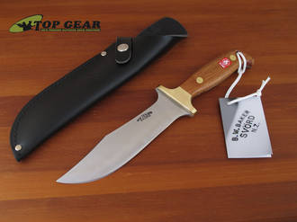 Svord Deluxe Hunter Knife with Mahogany Handle - 280H