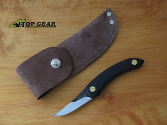 Svord Leather/Suede Belt Sheath for Chip Thwitel Whittling Knife, Brown - PKS