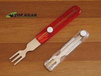 Swiss Advance Travel Cutlery Fork - Red or White