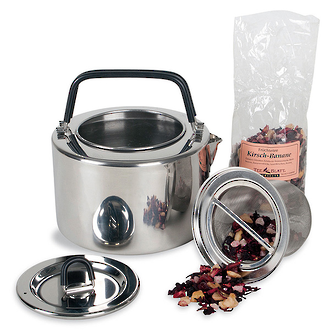 Tatonka Stainless Steel Teapot with Integrated Sieve, 1.5 L - 4016