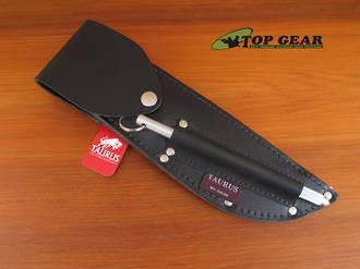 Taurus Leather Sheath with Flap for Boning Knife - SK324