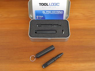 Tool Logic SL6 Keyring Accessory - Torch And Window Punch