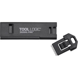 Tool Logic Signal Fire Keyring Firestarter and Emergency Whistle - SFB