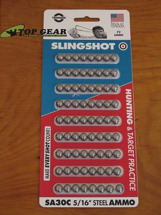 Trumark Slingshot Steel Balls Ammunition,  8 mm - SA30C