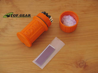 UCO Stormproof Match Kit with 20 Matches, Orange - MT-SM-CONT-OR