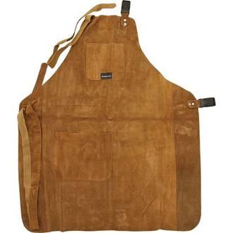 UJ Ramelson 3 Pocket Wood Carvers Leather Apron - UJ04