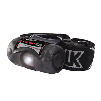 Underwater Kinetics Vizion ZB Waterproof LED Headtorch, 210 Lumens - 121115