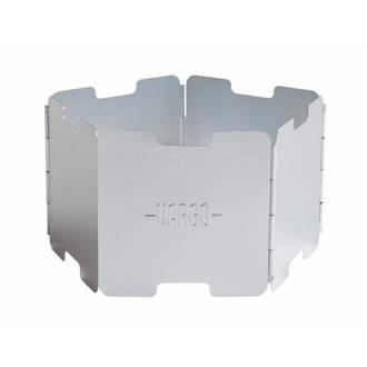 Vargo Aluminium Windscreen for Alcohol Stove, Natural - 00420