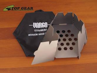 Vargo Titanium Hexagon Wood Stove - 415